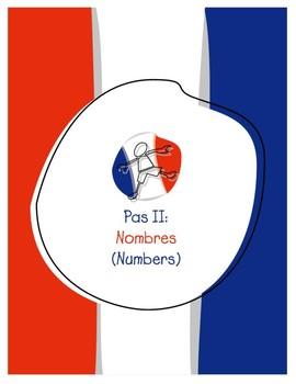 Explorer French Learning Program - Pas II: Nombres