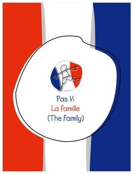 Explorer French Learning Program - Pas V: La Famille