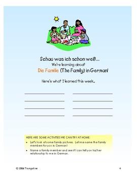 Explorer German Learning Program - Einheit V: Die Familie