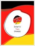 Explorer German Learning Program - Einheit X: Tiere