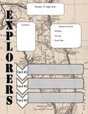 Explorer Graphic Organizer