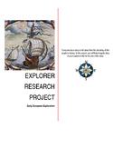 Explorer Research Project-Grades 4 - 8