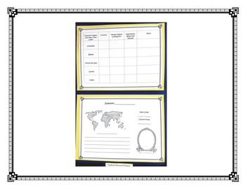 Explorer Rearch Project Lapbook