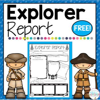Social Studies Report for Explorers