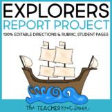 Explorers | Explorers Report | Explorers Research Project | Explorers Project