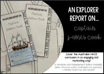 Explorer Report : Captain James Cook