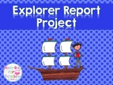 Explorer Report Project