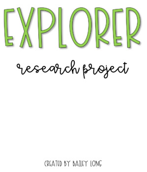 Explorer Research Project