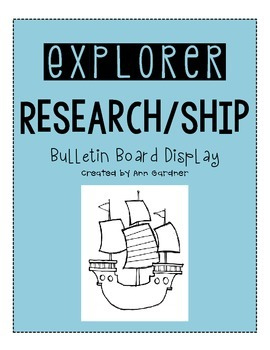 Explorer Research - Ship Template - Great Display