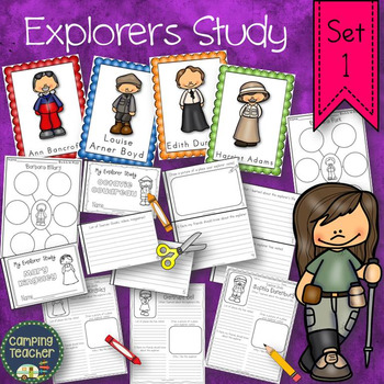 Explorer Research Study Activity Set 1 (females)