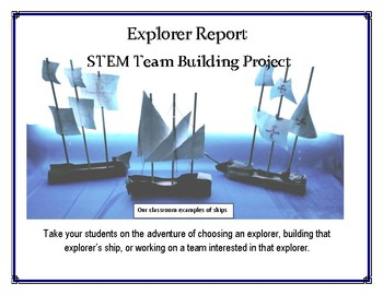 Explorer Research and Ship Building STEM Project