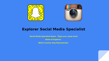 Explorer Social Media Specialist Assignment Without Templates