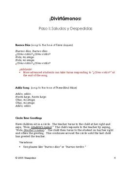 Explorer Spanish Learning Program - Paso I: Saludos y Despedidas