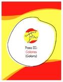 Explorer Spanish Learning Program - Paso III: Colores