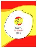 Explorer Spanish Learning Program - Paso VI: Comida