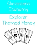 Explorer Themed Classroom Economy Dollars
