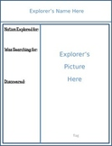 Explorer Trading Card Template