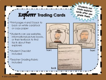 Explorer Project - a trading card project