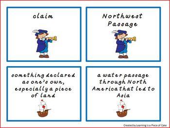 Explorer Vocabulary Pack