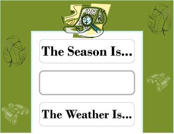 Explorer Weather Chart! Explorer Bulletin Board! Explorer