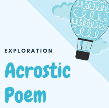 Explorer's Acrostic Poem