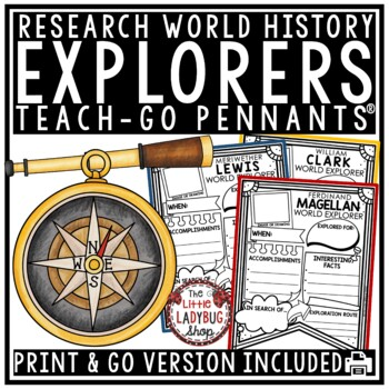 European Explorers to America Research Project • Christopher Columbus, & More