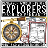 European Explorers of The New World Research Project Templates