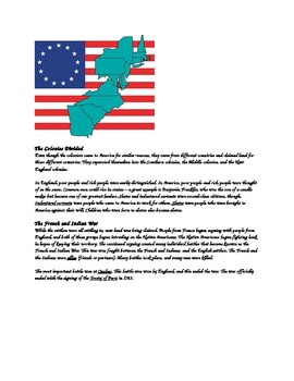 Explorers & 13 Colonies Study Guide