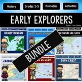 Explorers of the New World #1: Cabot, Balboa, de Soto, Columbus, Hudson, Cartier