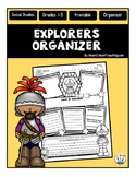 Explorers Research Organizers for Poster Projects