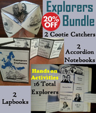 Famous World and European Explorers Interactive Notebooks & Activities Bundle