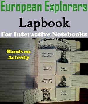 Famous World and European Explorers Interactive Notebooks & Activities Bundle