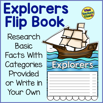 Explorers Research Writing