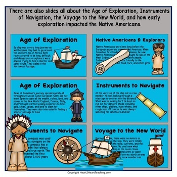 Early European Explorers BUNDLE Hudson, Cartier, Balboa, Cabot, Columbus & More