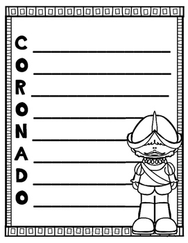 Explorers Writing Activity for 12 Explorers & FREE Explorers Word Search