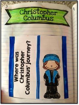 Explorers Social Studies Interactive Notebook & Worksheets Bundle