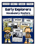 Early Explorers Vocabulary Posters & Activities