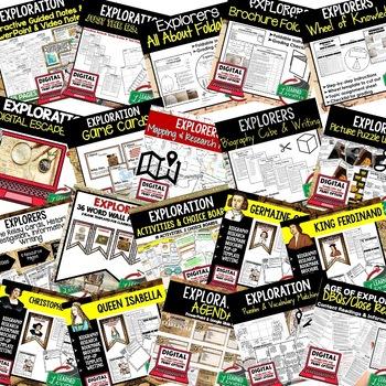 Explorers BUNDLE (World History Bundle)