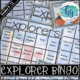 Explorers Bingo
