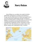 Explorer's Biography (lower elementary)