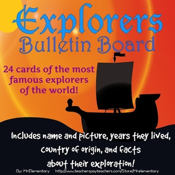 Explorers Bulletin Board Posters