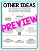 Explorers Choice Board - Editable