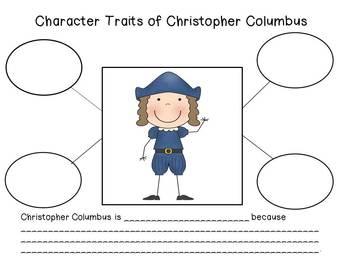 Christopher Columbus Day:Columbus writing,social studies and math fun activities