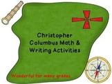 Christopher Columbus Day:Columbus writing,social studies a