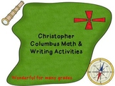 Christopher Columbus Day:Columbus writing,social studies a