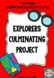 Explorers Culminating Activity/Final Project