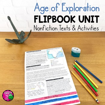 Explorers & Exploration Unit: Informational Texts, Maps, & Activities  European