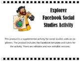 Explorers Facebook Activity