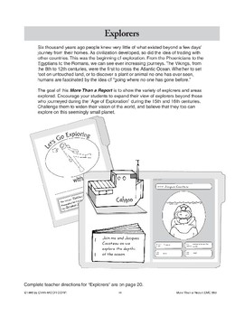 Explorers File Folder Report