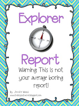 Explorers Folder Report